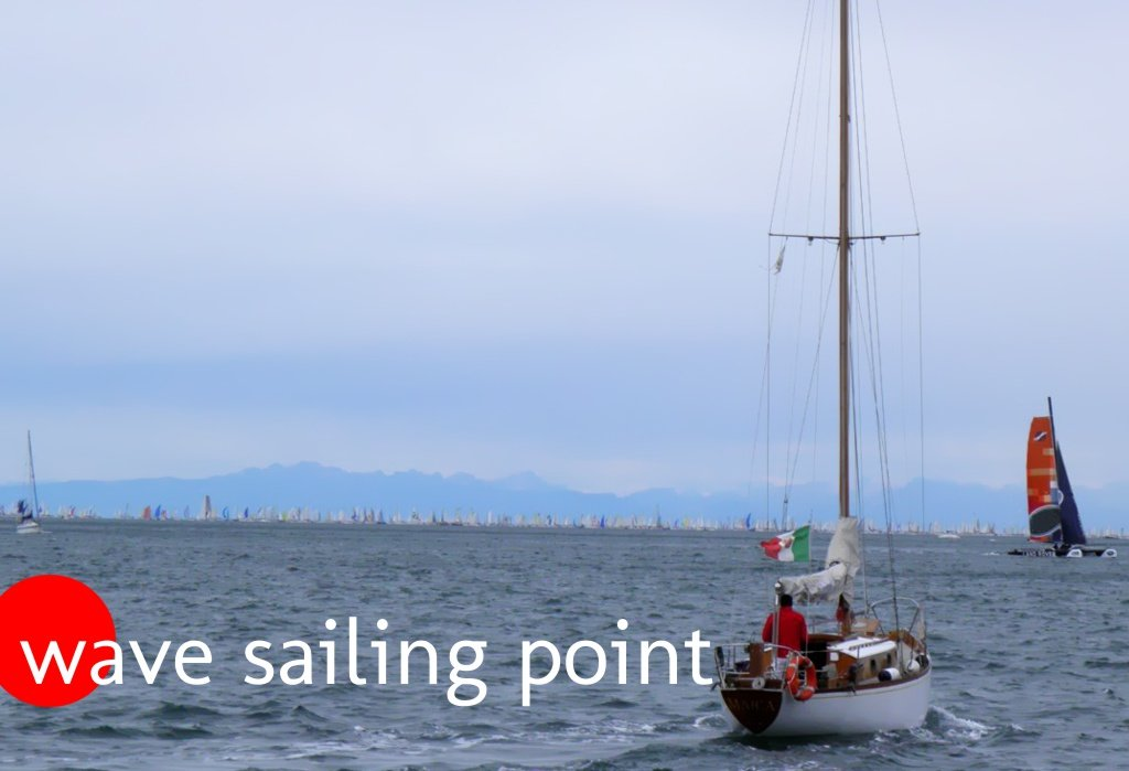 Wave sailing point
